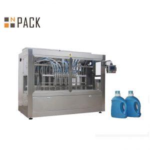 Автомат шингэн 10 цорго бүхий гичийн тос Лонхны сав баглаа боодлын машин